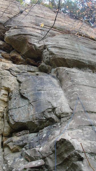 Rock Climbing Photo: Junior's Gesture- 11a.