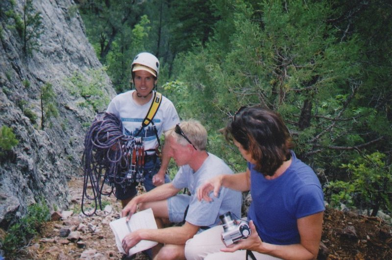Rock Climbing Photo: Getting ready to climb