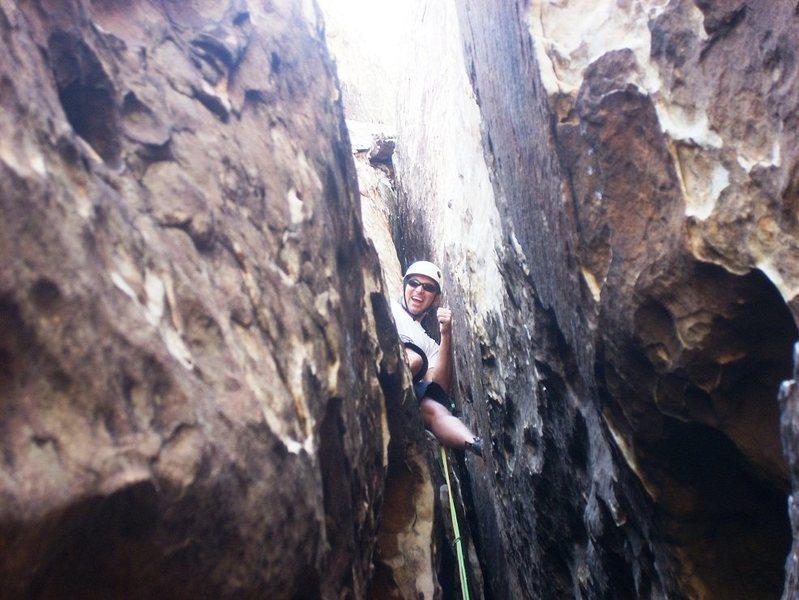 Rock Climbing Photo: Having Fun on Tunnel Vision