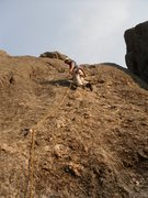 Rock Climbing Photo: Having fun on Better than pool pie