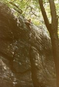 Rock Climbing Photo: circa 7/1983 - 2 months after FA