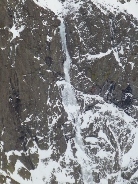 Rock Climbing Photo: Ice detail