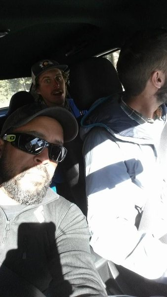On Our Way to Yosemite