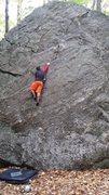 Climbing the crack. Love it.
