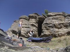 Rock Climbing Photo: Great start to a awesome problem!