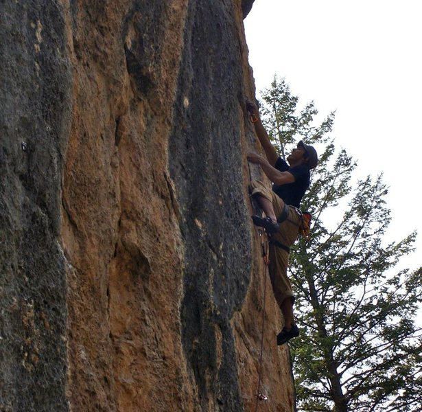 Rock Climbing Photo: Circus Wall - Ten Sleep, WY