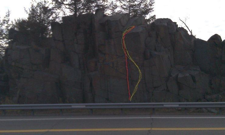 Highway 8 Boulder