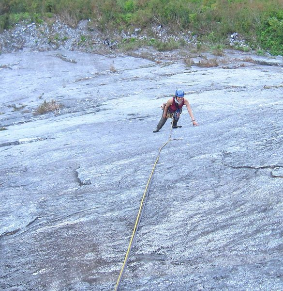 Miho U on Silent Running, pitch 3 (10a).