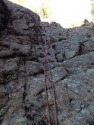 Rock Climbing Photo: Rappel gully that is between Park View Dome and Th...