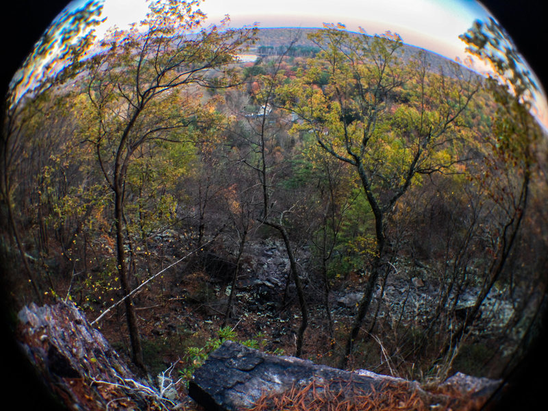 "Rock Climbing Photo: I believe this is ""Goldline Ledge"", wher..."