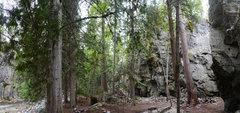 Rock Climbing Photo: Stryker Crag main area.