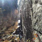 Rock Climbing Photo: Dylan Randall on lead, myself on belay. An amazing...