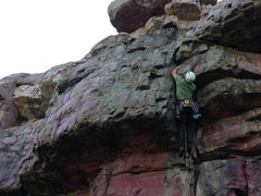 Rock Climbing Photo: Cactus Capers onsight lead