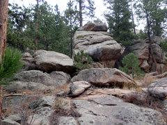 Rock Climbing Photo: Potential bouldering.