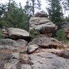 Potential bouldering.