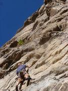 Rock Climbing Photo: Kevin having a lap on TR.