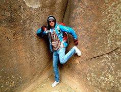 Rock Climbing Photo: Penitente!