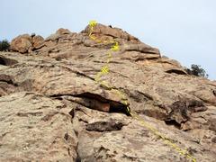 Rock Climbing Photo: Dragon Slayer.