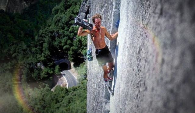 Rock Climbing Photo: Ghetto Blaster
