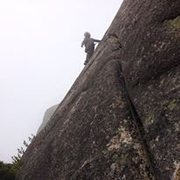 Rock Climbing Photo: Almost there...