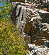 Rock Climbing Photo: hang