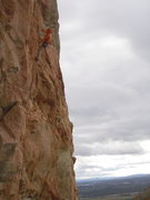 Rock Climbing Photo: Clipping the anchors