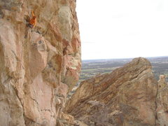 Rock Climbing Photo: Rad route!!