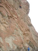 Rock Climbing Photo: Crack is good