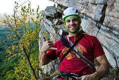 Rock Climbing Photo: Hawks Played the Rangers that day...when in New Yo...
