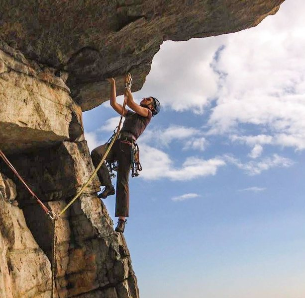 Rock Climbing Photo: Bonnie's Roof Direct