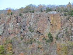Rock Climbing Photo: Merimere Face in Fall