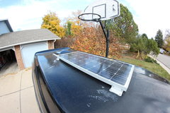 Rock Climbing Photo: Vent and solar panel.