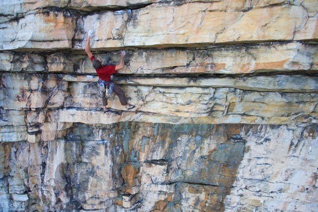 Rock Climbing Photo: No Man's Land