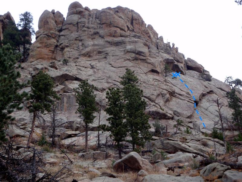 Rock Climbing Photo: Mystery.