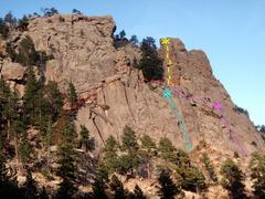 Rock Climbing Photo: Swingtime and approaches  1) Swingtime. 2) Approac...