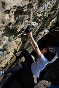 Rock Climbing Photo: Warmup wall.