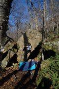 Rock Climbing Photo: Cruising.
