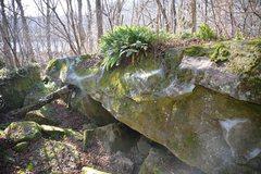 Rock Climbing Photo: First Born Traverse.