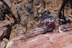 Rock Climbing Photo: Adam