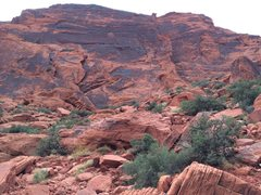 Rock Climbing Photo: Calico Basin, Happy Acres area
