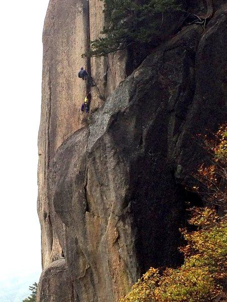 Rock Climbing Photo: Mizugakiyama