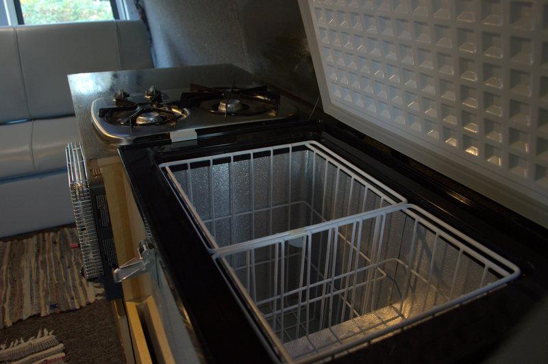 Whynter 45 installed in my van
