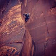 Rock Climbing Photo: Milking a great rest on Bar Exam