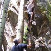 Big Lake White Mountains Az. 7-07 some good sport climbing here. Who would've known.