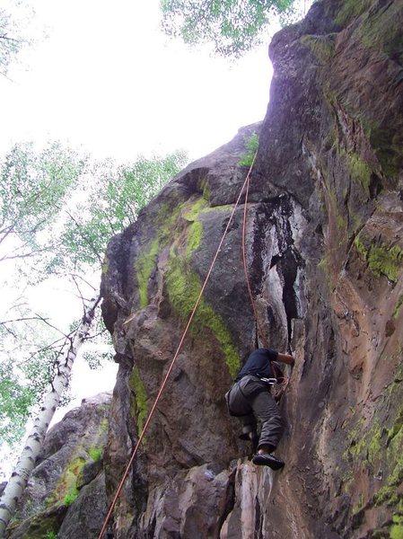 Rock Climbing Photo: Beautiful Basalt