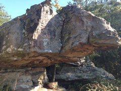 Rock Climbing Photo: Redneck Rhino boulder