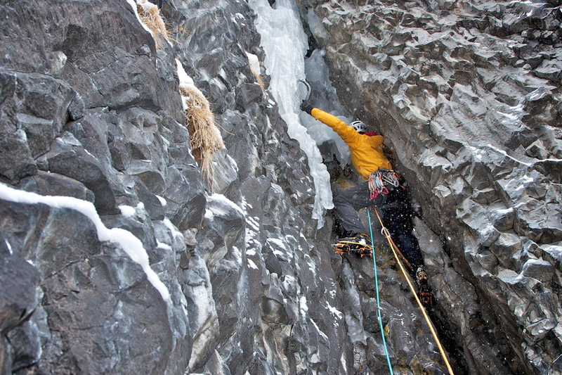 Rock Climbing Photo: Thrill is Gone