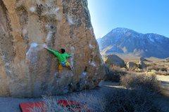 Rock Climbing Photo: Twin Cracks.