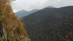 Rock Climbing Photo: Looking towards ; Colden Lake, the Loj, Algonquin,...
