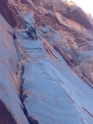 Rock Climbing Photo: Linked to the finish of Cherry on top, it doesn't ...